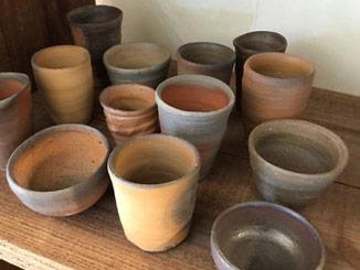 のらちん工房の陶器:カップ各種