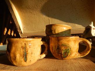 のらちん工房の陶器:マグカップ